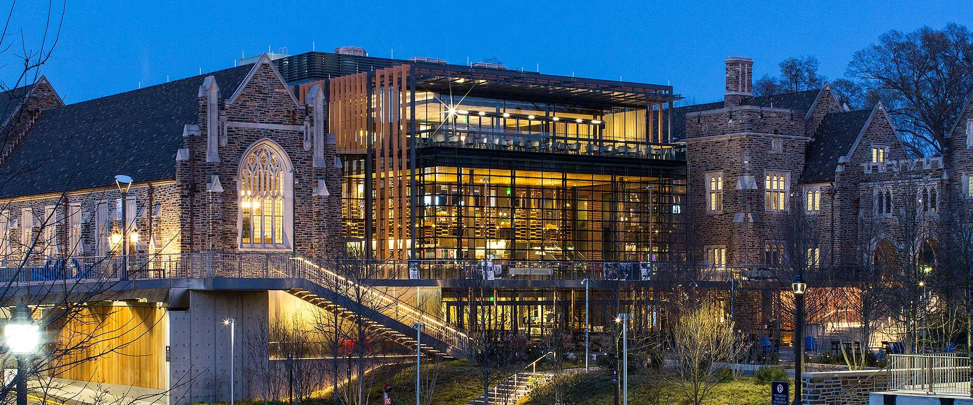Duke University West Campus Union Shickel Corporation